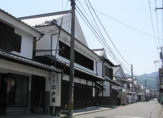 吉井の白壁の町並み